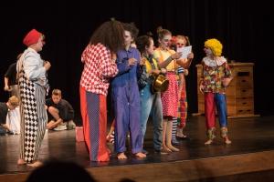 Probenbild des Zirkus Picobello
