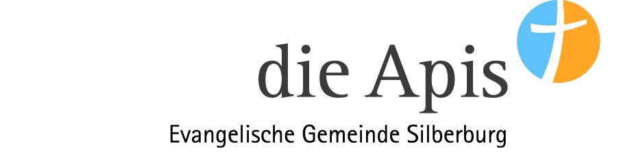 """Logo der evangelischen Gemeinde Siberburg """"die Apis"""""""
